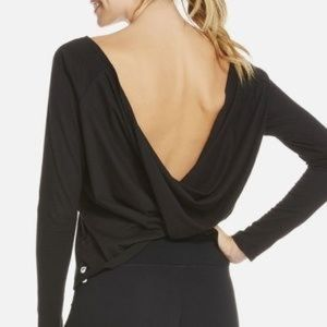 Fabletics Switch Back Tee Long Sleeve